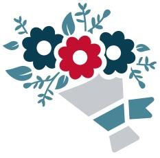 Bouquet graphic