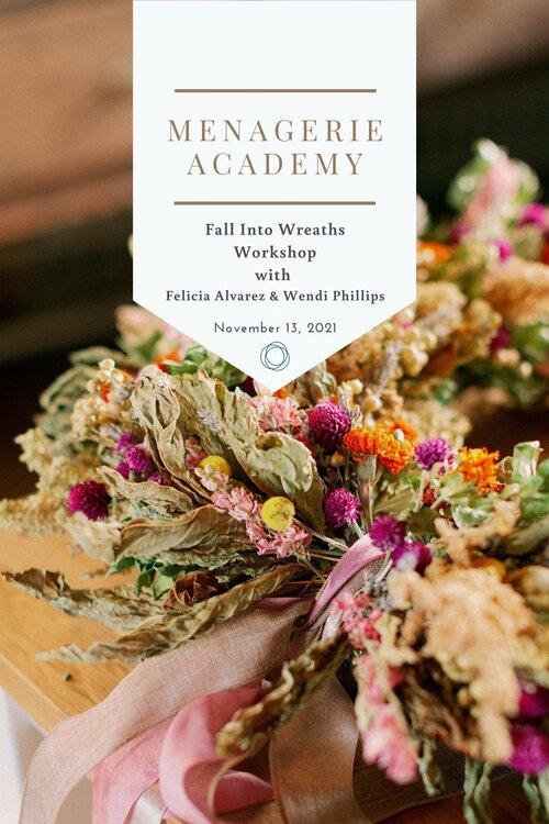 Fall Wreaths Workshop Flyer
